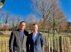 Tom De Vits en Luk Vanderelst: dreigt schapenweide in Nossegem te verdwijnen?