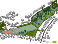 Het nieuwe Zeenpark in Sterrebeek